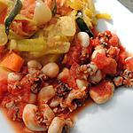 recette Fricassée aux calamars et curry de légumes