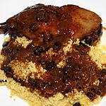 recette Cuisses d'oie à l'orientale