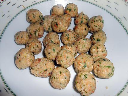 Petites boulettes de pain au bouillon (Polpettine di pane in brodo) 430