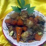 recette Pointe de porc sauter. et légumes.