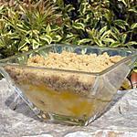 recette Crumble de noix de pécan aux mangues et aux bananes