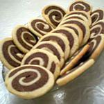 recette Sables spirales bicolores