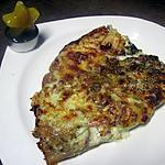 recette Pizza aux fromages et lardons fumés.