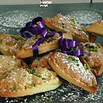 recette navettes à l'amandine et aux pistaches
