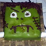 recette Gâteau monstre Frankenstein