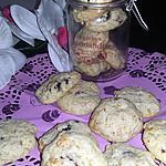recette Cookies au cranberrys et céréales de Oh la gourmande!