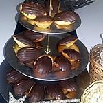 recette Madeleines en coque de chocolat au thermomix