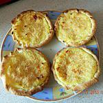 recette Tartelettes au flan à la noix de coco