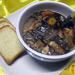 recette Soupe aux légumes. vermicelle de soja.