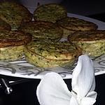 recette Clafoutis courgette chèvre