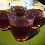recette Aspic d'hibiscus à l'agar-agar