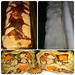 recette Tourte-cake aux foies de volaille