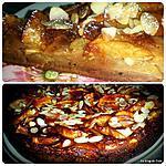recette Gâteau fondant aux pommes, amandes et rhum