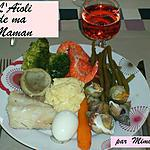 recette L'Aïoli garni de ma Maman
