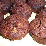 recette MUFFINS poire chocolat de ROSINETTE,un pur régal !!!