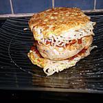 recette konjac burger (régime dukan)