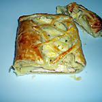 recette feuilletés reste de raclette
