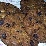 recette Cookies pepites de chocolat