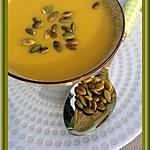 recette Soupe de Potiron au Roquefort