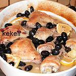 recette Cuisses de poulet rôties au citron