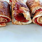recette Roulades de poulet au poivron (régime dukan)