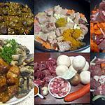 recette sauté de porc au massalé et champignons.
