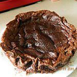 recette Moelleux chocolat et lait de coco
