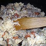 recette Riz grillé au saucisse de Toulouse et chorizo
