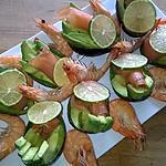 recette Avocat saumon fumé et crevettes roses