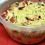 recette Salade de semoule à l'orientale