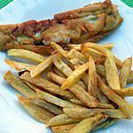 recette Fish and chips version mon mari !