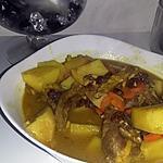 recette Tajine d'agneau au raisins secs