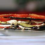 recette Aubergines grillées à la mozzarella