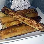 recette Brick a la pomme de terre kiri jambon