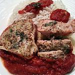 recette Filet mignon moutarde sauce tomate