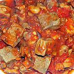 recette Sauté de veau marengo (régime dukan)