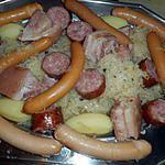 recette Choucroute lard et saucisses