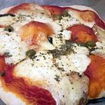 recette Pizza moelleuse jambon mozzarella