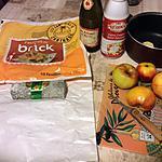recette croustillants de chèvre et coulis de pomme au cidre