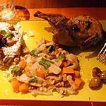 recette poêlée de légumes d'automne