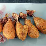 recette Pilons de poulet panés (régime dukan conso)