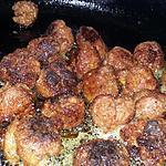 recette Petites boulette de merguez