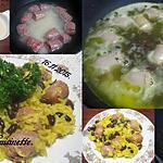 recette Riz jaune aux de saucisses de Toulouse.
