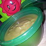 recette Purée haricot vert-carottes et jambon *Pour Bébé*
