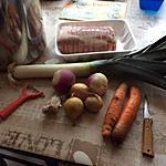 recette roti de porc dans l'échine au court-bouillon: