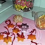 recette Guirlande de Noel en peau d'orange