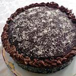 recette Moelleux chocolat, ganache chocolat et noix de coco