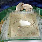 recette Velouté aux champignons