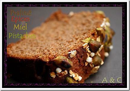 Pain d'épice au praliné (2)
