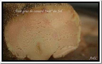 Foie gras de Canard cuit au sel (1)